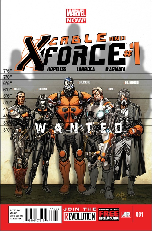 Cable And X-Force #1 Cover