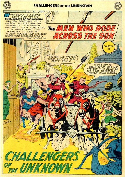 Challengers of the Unknown #4 (1958)