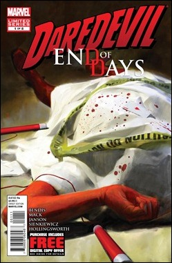 Daredevil: End of Days #1 Cover
