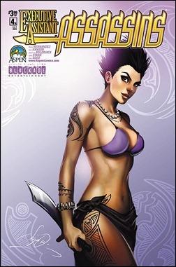 Executive Assistant: Assassins #4 Cover A