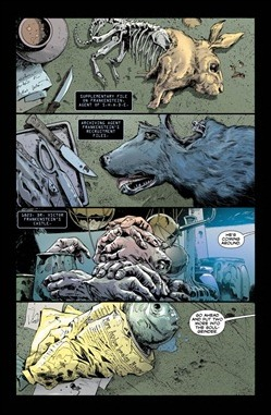 Frankenstein, Agent of S.H.A.D.E. #0 Preview 1