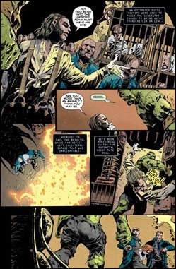 Frankenstein, Agent of S.H.A.D.E. #0 Preview 3