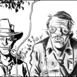 """Sneak Peek at Art From """"Ghost for Hire"""" Short by Geoff Johns and Jeff Lemire"""