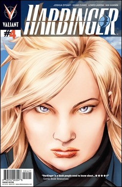 Harbinger #4 Cover Variant