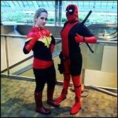 Captain Marvel & Deadpool
