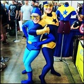 Blue Beetle & Booster Gold - Female style