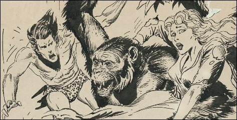 Joe Kubert's Tarzan of the Apes: Artist's Edition