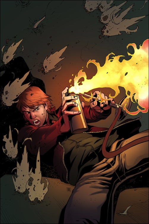 MacGyver: Fugitive Gauntlet #1 Cover