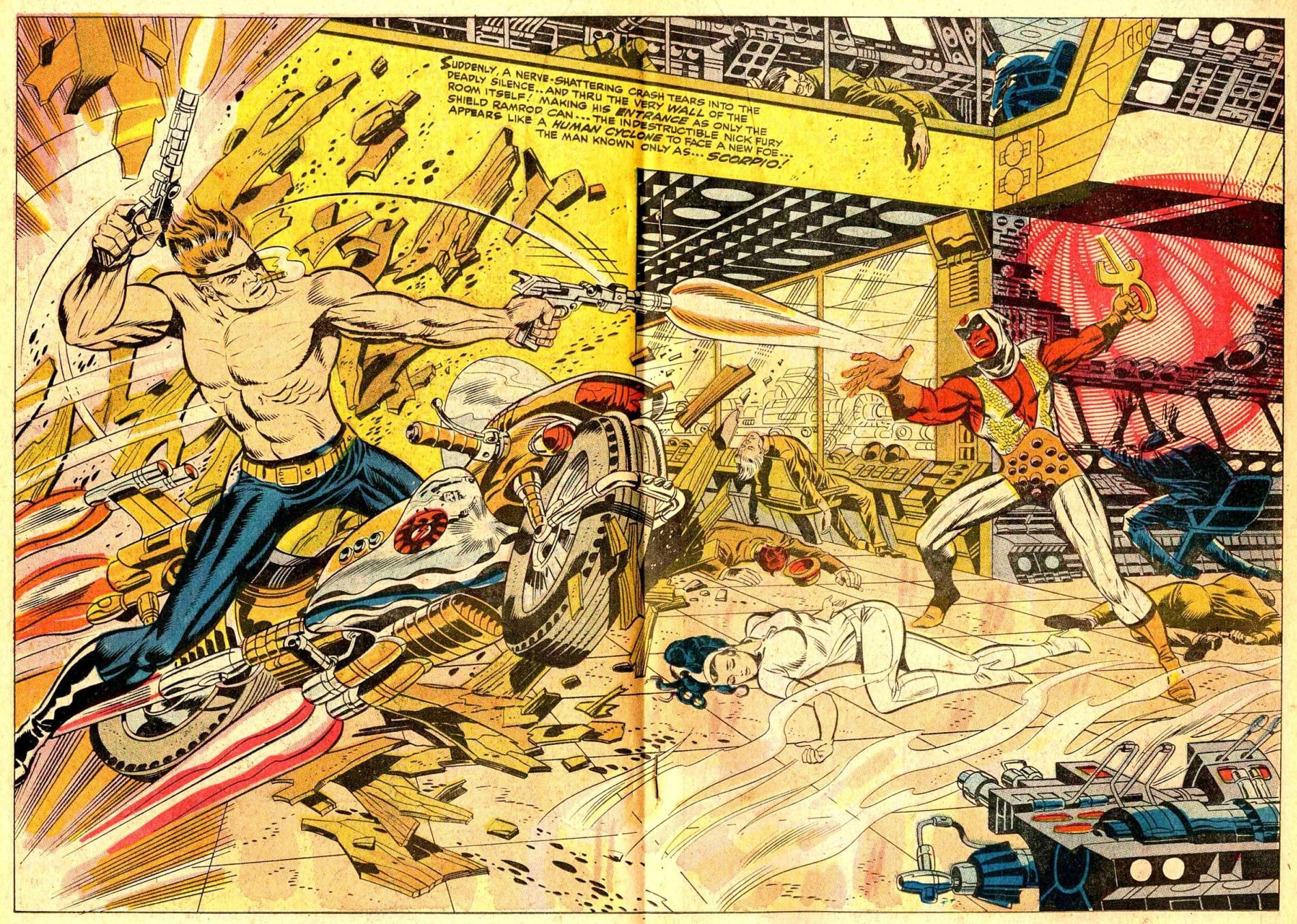 classic page   nick fury agent of s h i e l d 1 by jim