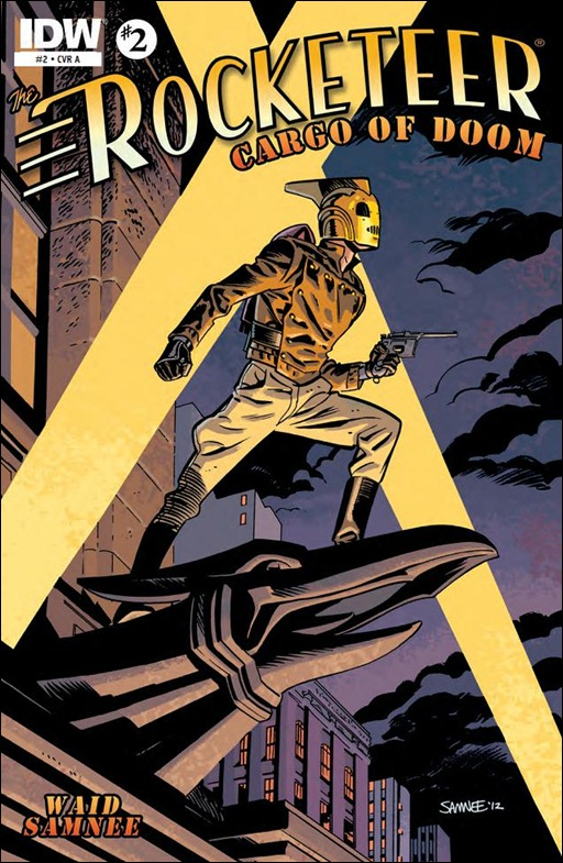 The Rocketeer: Cargo of Doom #2 Cover
