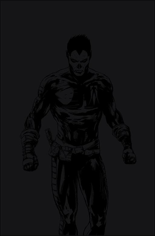 Shadowman #1 Blackout Pullbox Variant