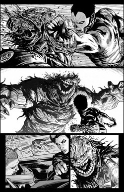 Shadowman #2 Preview 2