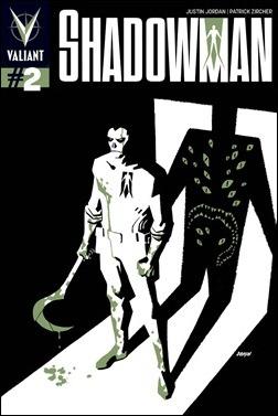 Shadowman #2 Johnson Variant Cover
