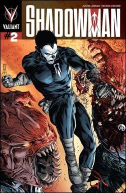 Shadowman #2 Cover