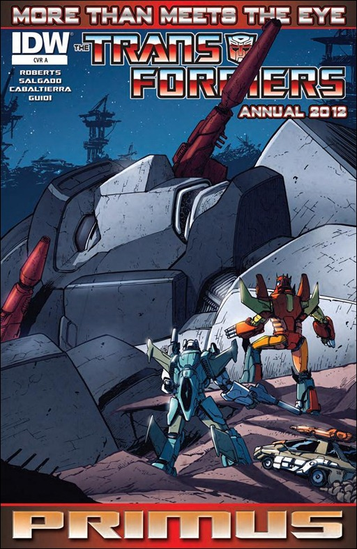 Transformers: More Than Meets the Eye Annual 2012 Cover