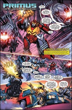 Transformers: More Than Meets the Eye Annual 2012 Preview 2