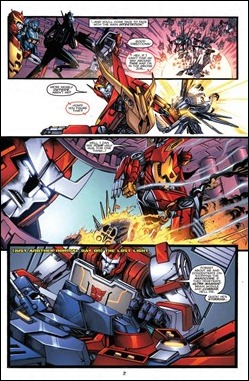 Transformers: More Than Meets the Eye Annual 2012 Preview 3