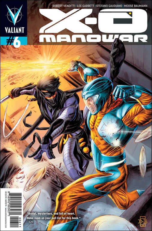 X-O Manowar #6 Cover