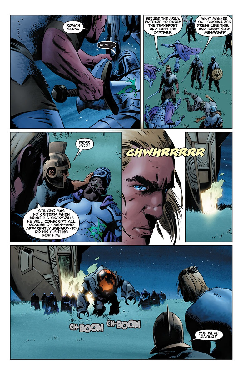 ... X-O Manowar Vol. 1: By The Sword TPB Preview 2 ...