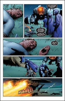 X-O Manowar Vol. 1: By The Sword TPB Preview 5