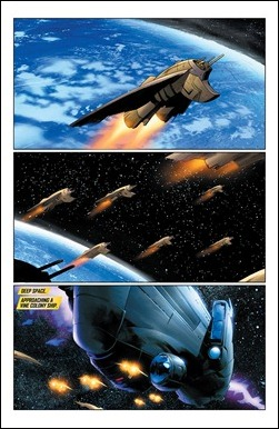 X-O Manowar Vol. 1: By The Sword TPB Preview 6