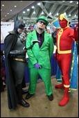 Batman, The Riddler, Red Tornado