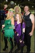 Poison Ivy, Thor, Hawkeye, & Wolverine