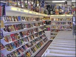 Comic Book Racks