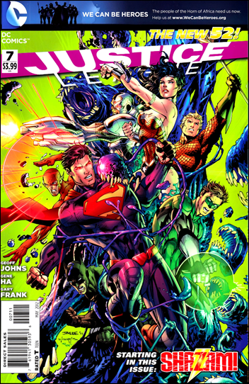 Justice League #7 cover