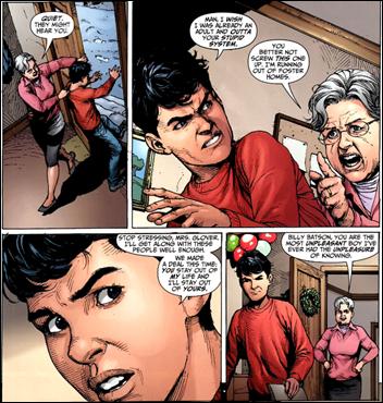 Justice League #0 panel