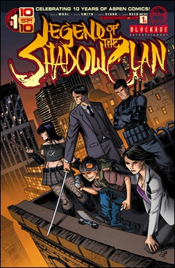 Legend of the Shadow Clan #1 Cover B