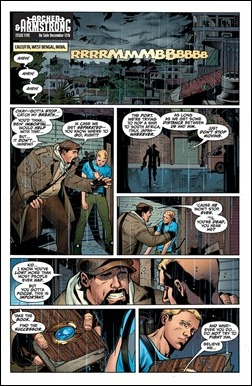 Archer & Armstrong #5 Preview 1