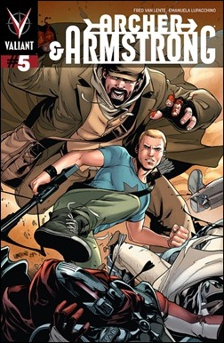 Archer & Armstrong #5 Lupacchino Interlocking Variant Cover A