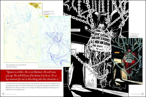 The Art of Todd McFarlane: The Devil's in the Details Interior Page 232 - 233