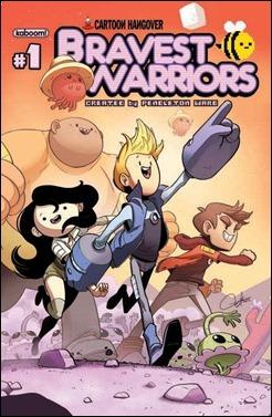 Bravest Warriors #1 Cover
