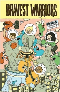 Bravest Warriors #1 Cover