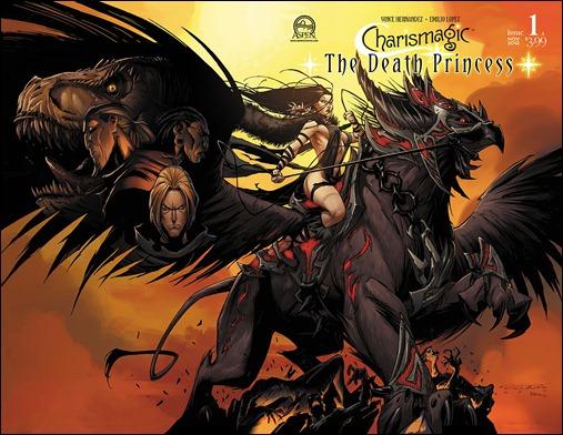 Charismagic: The Death Princess #1 Wraparound Randolph cover