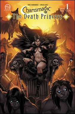 Charismagic: The Death Princess #1 Cover B Emilio Lopez