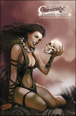 Charismagic: The Death Princess #1 Cover C Siya Oum