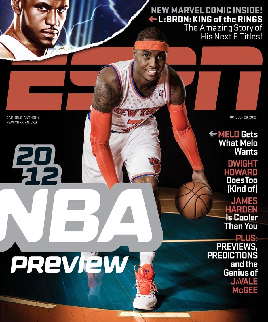1e24a984c92 Lebron  King of The Rings Preview from Marvel   ESPN Magazine