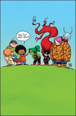 FF #1 Skottie Young Cover variant