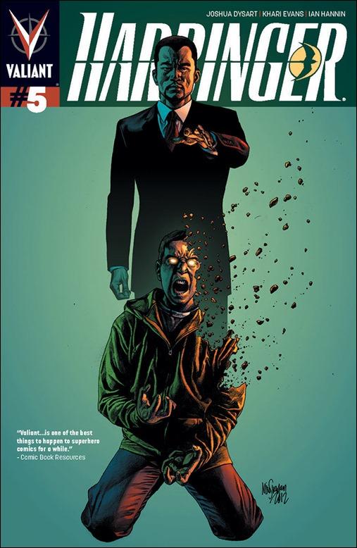 Harbinger #5 Cover