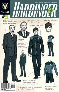 Harbinger #5 Aja Variant Cover
