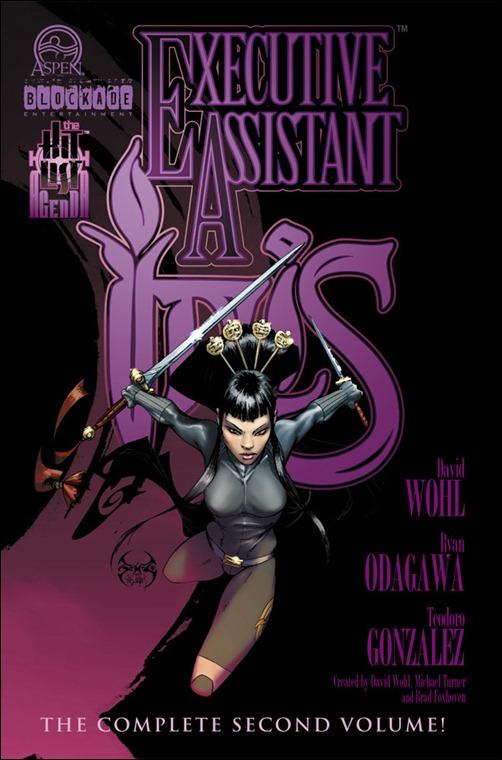 Executive Assistant: Iris Vol. 2 TPB Cover