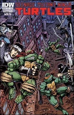 Teenage Mutant Ninja Turtles Annual 2012 Cover
