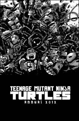 Teenage Mutant Ninja Turtles Annual 2012 Preview 2