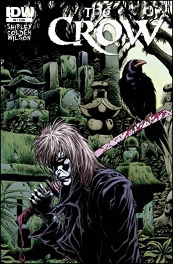 The Crow #4 Cover