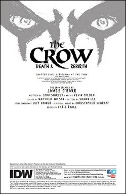 The Crow #4 Preview 1