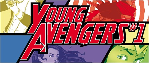 Young Avengers #1 Cover