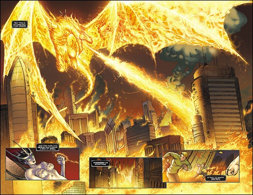 SOULFIRE (vol 4) #3 Preview 2 & 3
